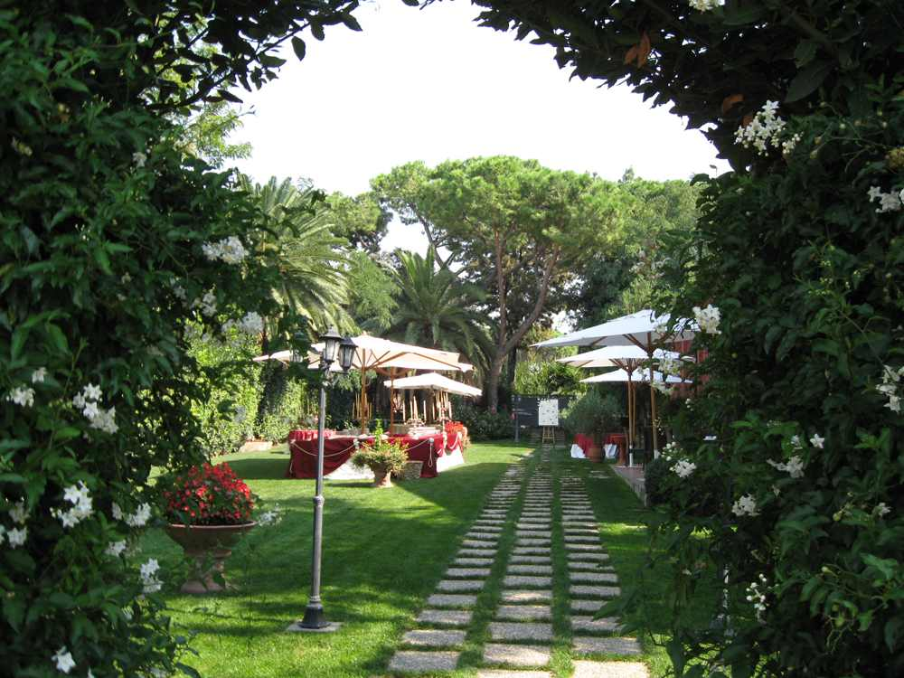 Location Matrimoni Roma all'aperto