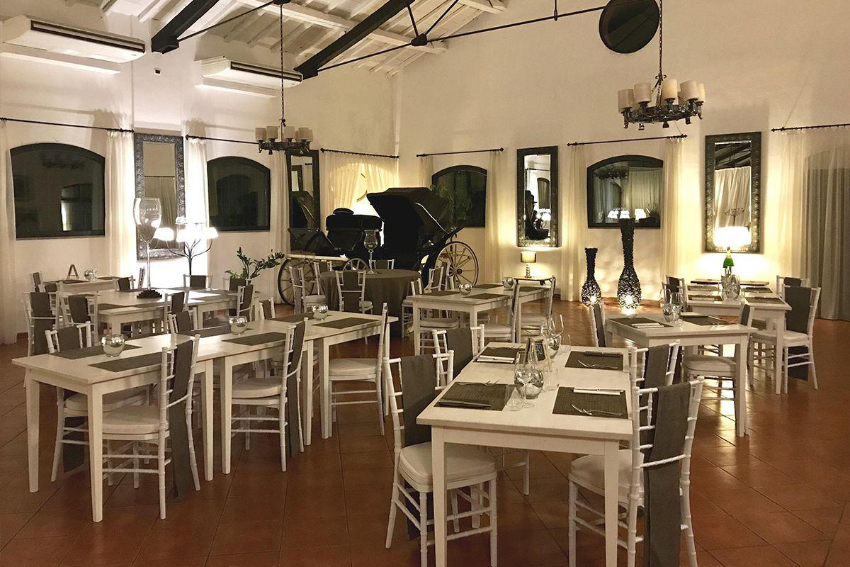 ristoranti roma portuense Scuderie San Carlo
