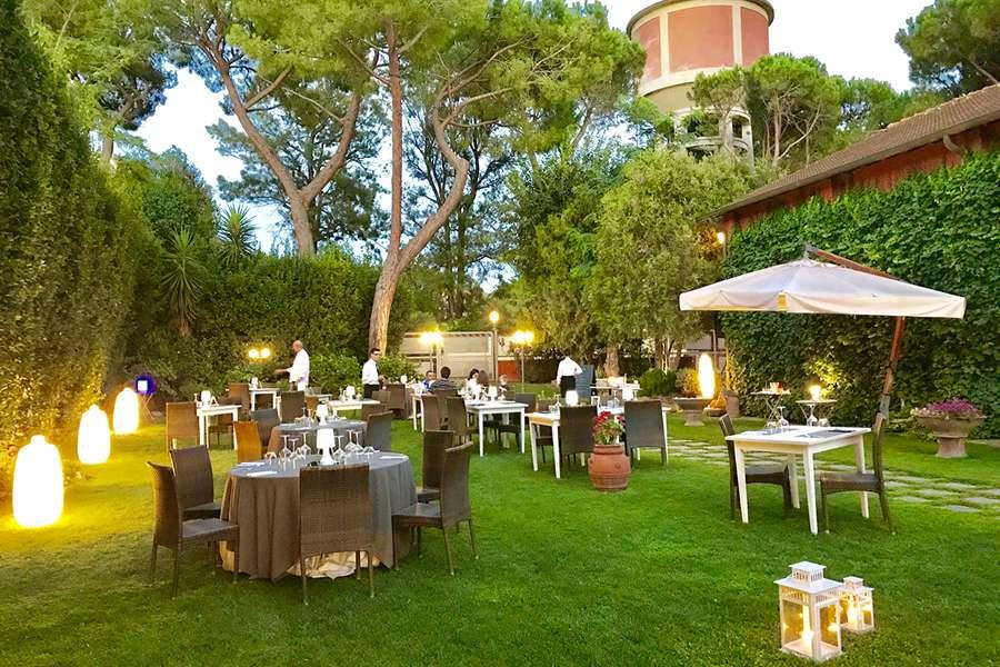 Ristorante Cena Giardino Roma