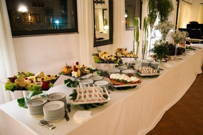 buffet cena aziendale roma