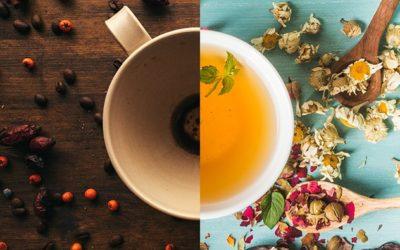 """La carta dei caffè """"Nespresso"""" e delle tisane """"La via del tè"""""""