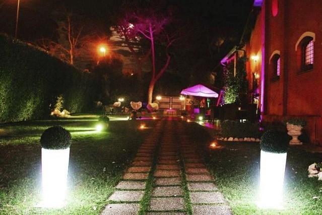 eventi aziendali giardino