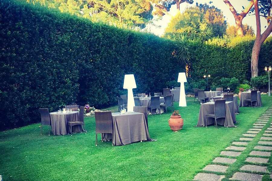 ristorante con giardino roma