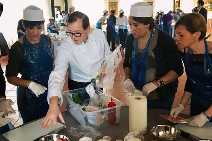 team building prove di cucina roma