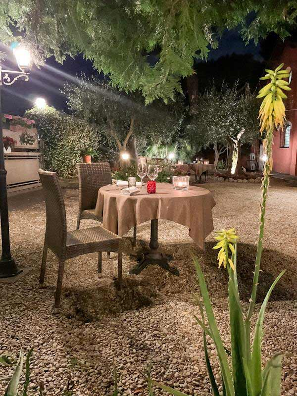 ristorante per coppie roma