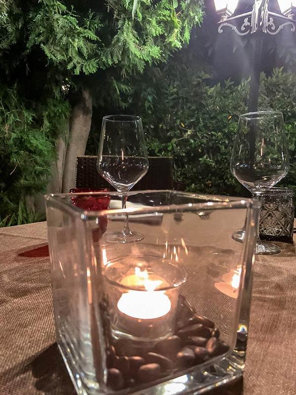 ristorante romantico a roma