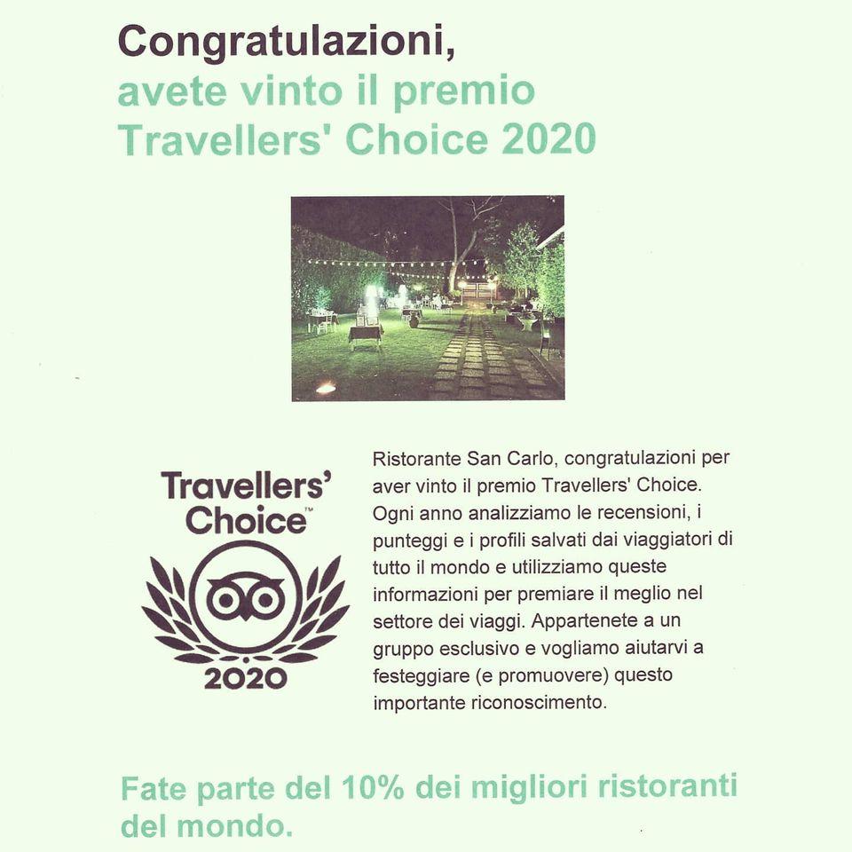 Travellers Choice 2020 ristoranti migliori